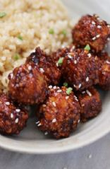 Spicy Korean Tofu Balls