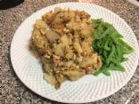Mustard Hash w/Ground Turkey Breast