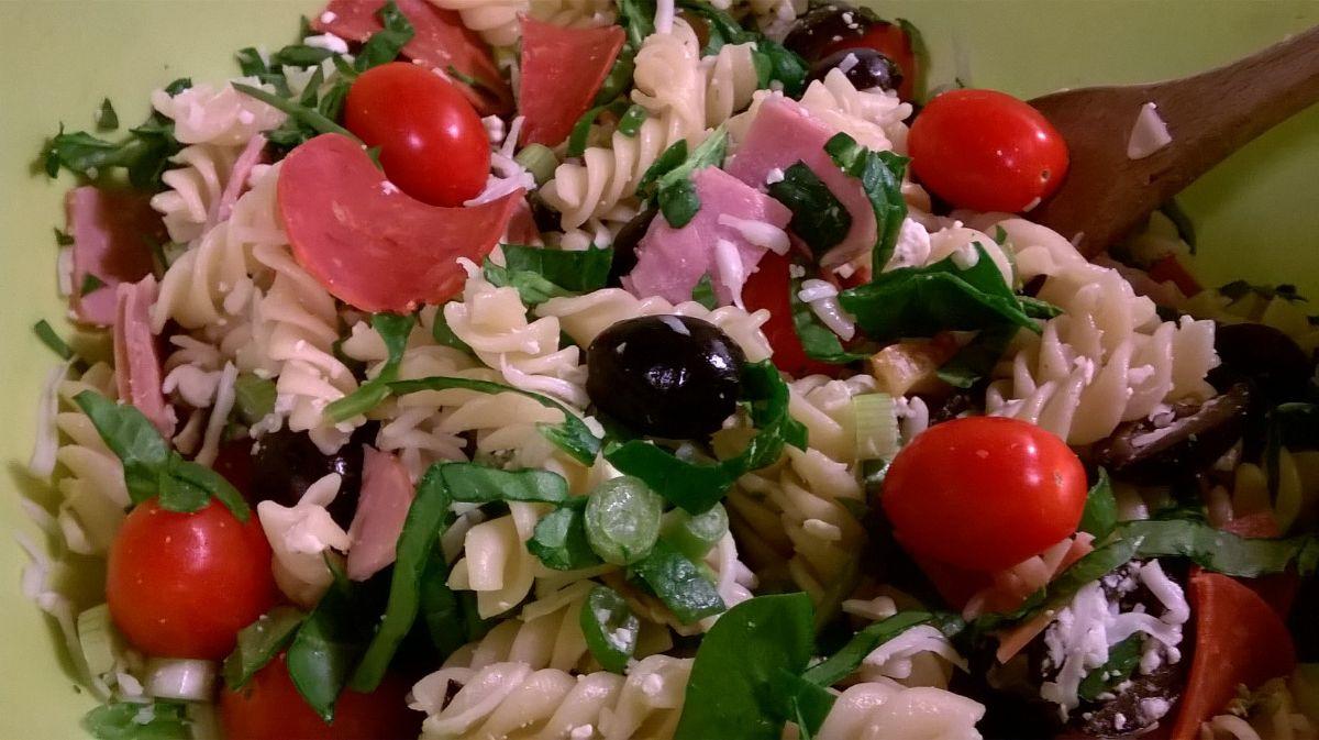 Spinach Antipasto Salad