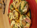Spinach Mushroom Egg Mini Quiche