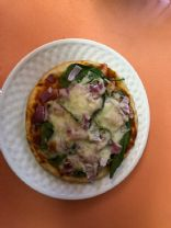 Spinach Pizza Pita