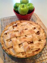 Splenda® Sugar Free version of Maine Down-East Country Apple Pie