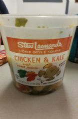 Stew Leonards Chicken & Kale Soup