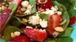 Strawberry Balsamic Feta Salad