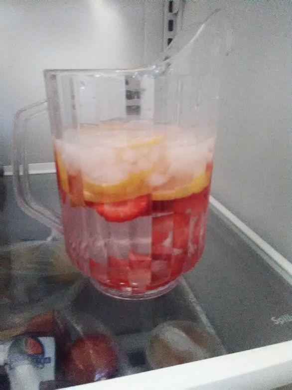 Strawberry Lemon Water