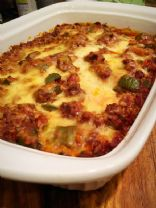 Stuffed Green Pepper Casserole