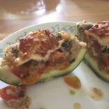 Stuffed Round (or baby) Zucchini