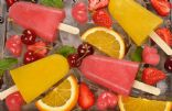 Summer Frozen Fruit Pops