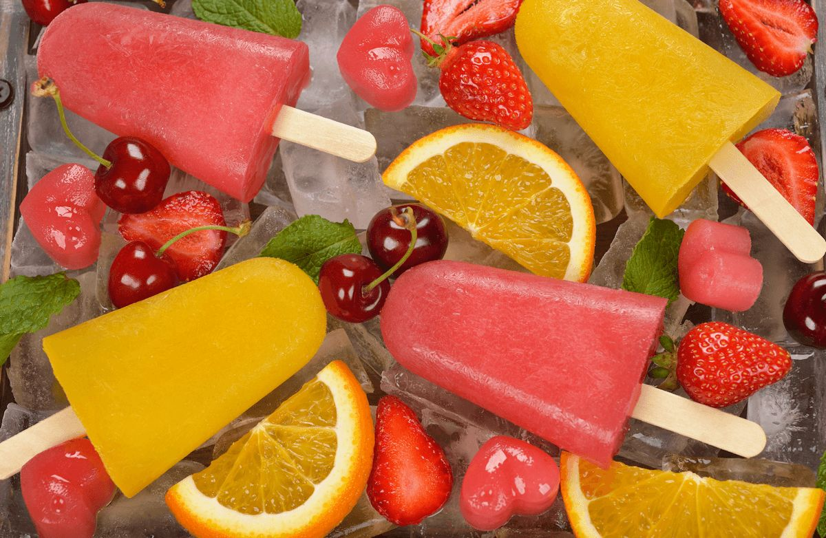 Summer Frozen Fruit Pops Recipe Sparkrecipes