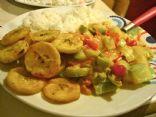 Summer Squash stew (pipian guisado)