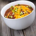 Keto Chili Bowl Recipe