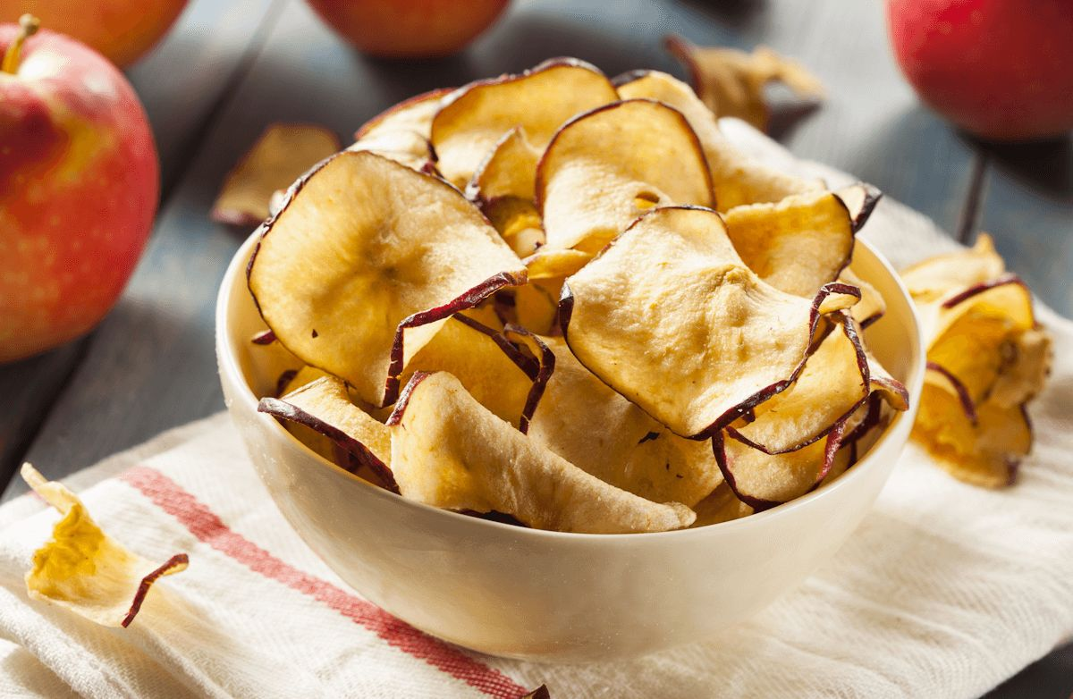 Sweet & Crispy Apple Chips