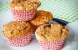 Sweet & Tart Rhubarb Muffins
