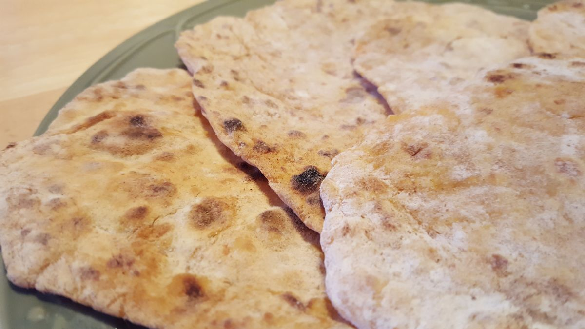 Sweet Potato Flat Bread