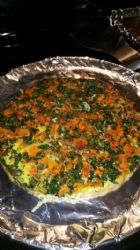 Sweet Potato Kale & Onion Fritatta