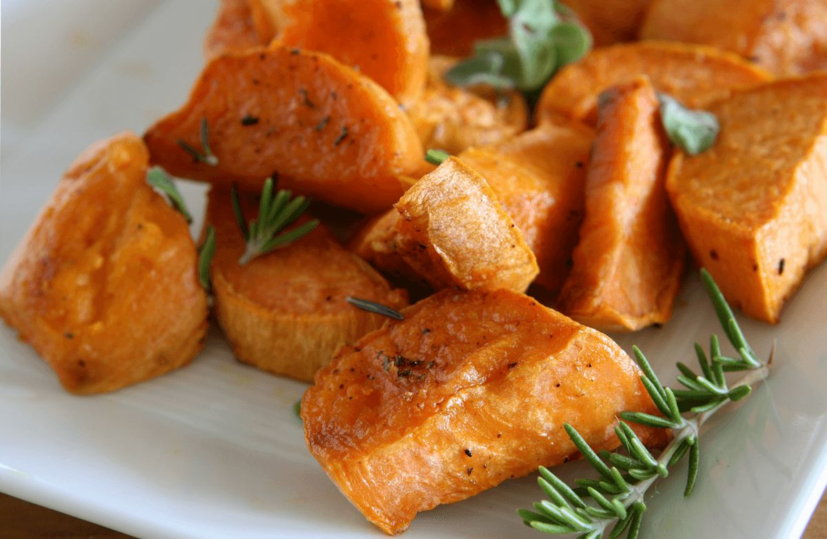 Sweet Potato Wedges with Rosemary RECIPE