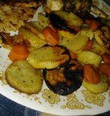 Sweet Potato and Carrot Packets