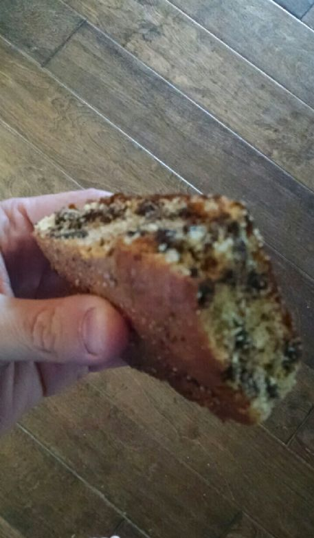 Protein Cornbread with Chocolate Chips