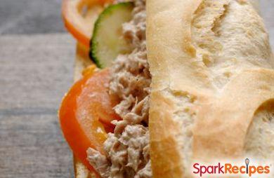 Tangy Tuna Salad Sandwich
