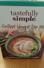 Tastefully Simple Dip with Light Mayo & Light Sour Cream