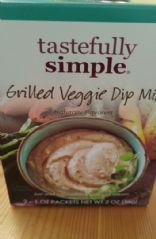 Tastefully Simple Dip with Light Mayo & Light Sour Cream