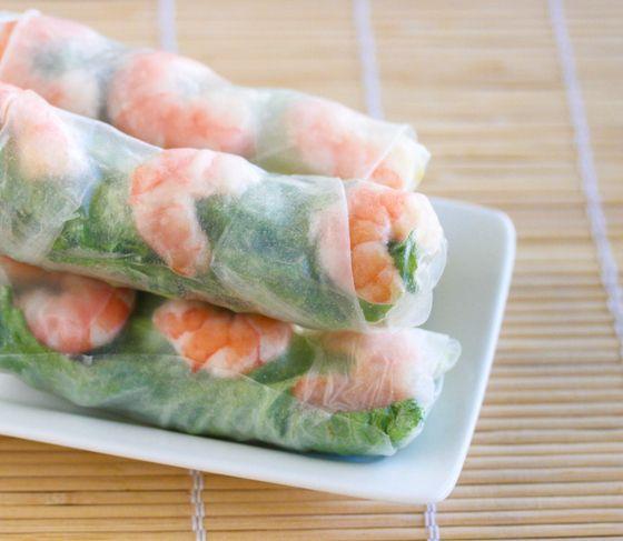 Teresa's summer rolls (3 rolls are 1 serving)