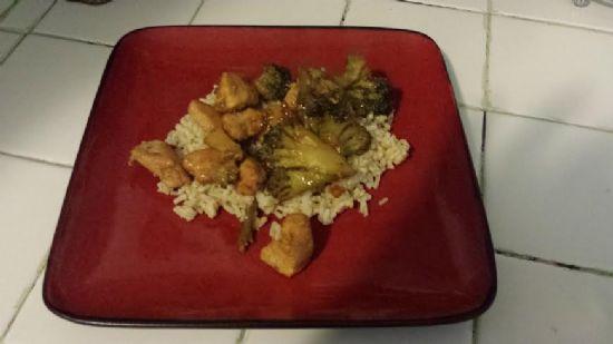 Teriyaki Chicken & Broccoli