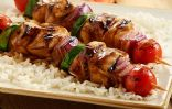 Teriyaki Chicken Kabob with Rice