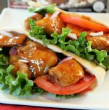 Teriyaki Chicken Pitas