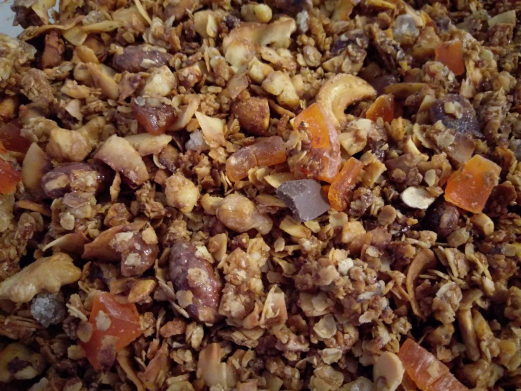 Terrie's Tropical Granola