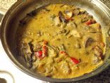 Thai Green Curry with Roasted Vegetables