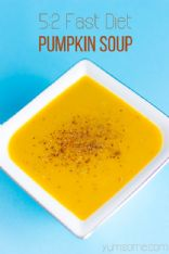 TheGoktor's 5:2 Diet Easy Peasy 82-Calorie Pumpkin Soup (Vegan)