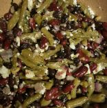 Three Bean and Feta Salad