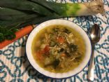 Tina's Chicken Vegetable Soup with Mini Shell Pasta