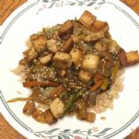 Tofu Stir Fry with vegetables