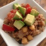Tomato and Quinoa Salad with Avocado