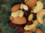 Trail mix (cranberries, Almonds, Cashews, pumpkin seeds)