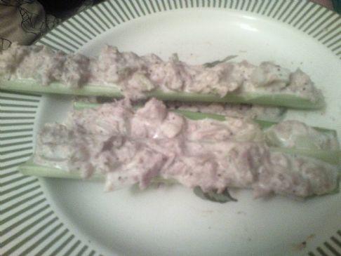 Tuna Salad (on Celery)