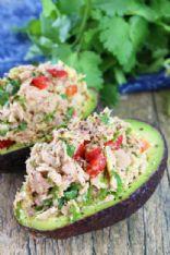Tuna Stuffed Avocado