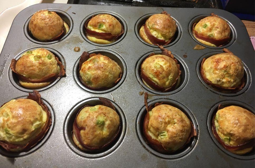 Turkey Bacon Egg Cups