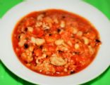 Turkey Black-Eyed Pea chili