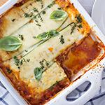 Atkins Turkey and Roasted Zucchini Lasagna