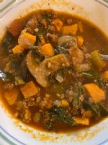 Tuscan Beef Vegetable Soup