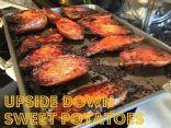 Upside Down Sweet Potatoes CCH