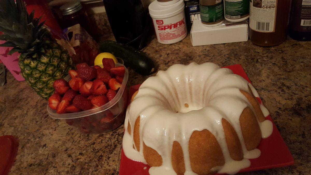 Vanilla YUMMMMM Cake