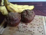 Vegan Banana Nutella Muffins