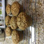 Vegan Carrot Ginger Muffins