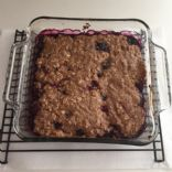 Vegan Triple Mixed Berry Crisp