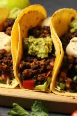 Vegan Taco Filling with soy and walnuts
