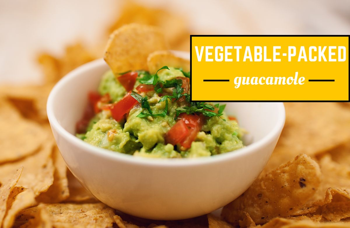 Vegetable-Packed Guacamole
